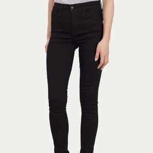 LEVIS BLACK 720  Super Skinny Ankle Jean SZ 6M/28